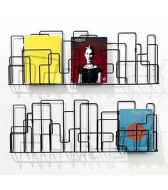 Porte revues on pinterest magazine racks murals and for Porte revue mural ikea