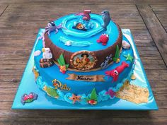 Piet Piraat taart Pirate cake