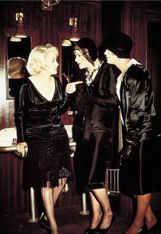 "Marilyn Monroe as Sugar Kane, Jack Lemmon as Daphne & Tony Curtis as Josephine in ""Some Like it Hot"" 1959"