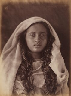 Julia Margaret Cameron's Victorian portrait photography – in pictures  Young Ceylonese woman plantation worker, c.1875-78