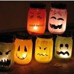 Mason jars - for Halloween
