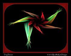 """Tiny Dancer""  fractal art by BuddhaKat"