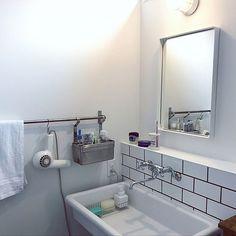 Double Vanity, Bathroom Medicine Cabinet, Ikea, Sink, Bathtub, Home Decor, Sink Tops, Standing Bath, Vessel Sink