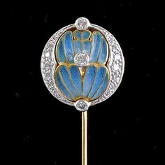 TIE PIN MASRIERA Y CARRERAS  Country:	  	France Period:	  	Art Nouveau