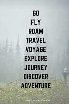 Travel and adventure quotes.