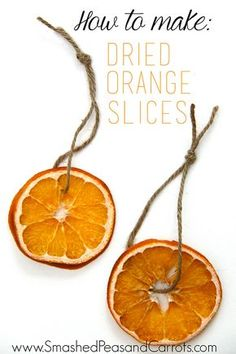 I made a bunch of Dried Orange Slicesfor decorating some gifts this year and I love the look of them. I think it's so fun to add a little something colorful to brown paper packages and as a bonus, since I added twine to these dried orange slices, they also work as an ornaments for …