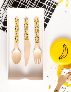 party utensils...