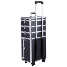 Pro-4in1-Interchangeable-Aluminum-Rolling-Makeup-Case-Cosmetic-Train-Box-Trolley