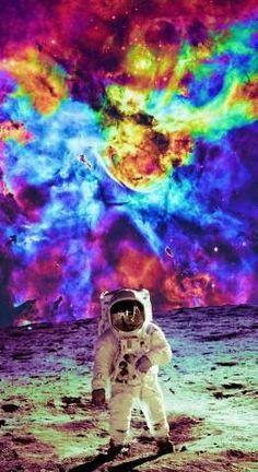 smoking smoke dreams colors astronauts - Buscar con Google