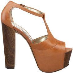 Amazon.com: Jessica Simpson Women's Dany Platform Sandal: Jessica Simpson: Shoes found on Polyvore