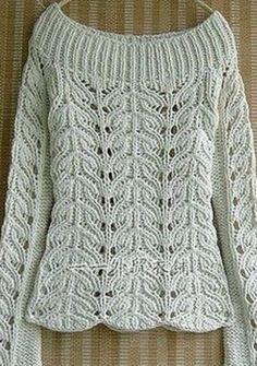 Scheme for knitting pullover Slip Stitch Knitting, Knitting Stitches, Knitting Patterns, Knitting Sweaters, Crochet Patterns, Crochet Hooded Scarf, Knit Crochet, Vest Pattern, Free Pattern