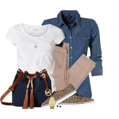Michael Kors Bag & Jewelry by daiscat on Polyvore featuring polyvore, fashion, style, AllSaints, Vans, MICHAEL Michael Kors and Michael Kors