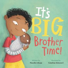 Baby's loud. Baby's messy. Sometimes Baby really smells. Maybe Baby just doesn't know the rules? Good thing it's big brother time—he can show Baby how to be the best baby ever! Told through the eyes of a big brother, this charming hardcover picture book empowers older siblings by showing them that they have very important roles to play in introducing their family's new baby to the world. Pile Of Books, New Books, Book Club Books, Book Lists, National Book Store, Older Siblings, Reluctant Readers, A Brother, Gifts For Readers