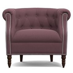 Handy Living Chesterfield Chair #HandyLiving #Glam