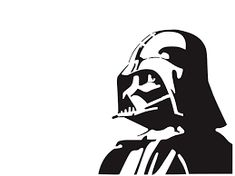 "Pochoir artisanal inspiration ""Star Wars - Dark Vador"" - Mylar - 21 cm x cm - Royaume-Uni Star Wars Silhouette, Superman Silhouette, Darth Vader Stencil, Darth Vader Star Wars, Star Wars Stencil, Stencil Graffiti, Stencil Art, Stencil Fabric, Vinyls"