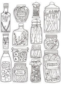 Pickles Print Art Print via Society 6 by Brooke Weeber