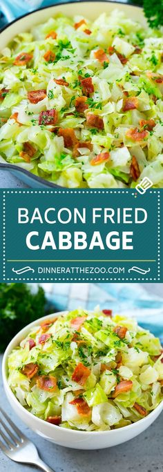 dinneratthezoo sidedish cabbage lowcarb recipe fried bacon with side dish keto Fried Cabbage Recipe Cabbage with Bacon Cabbage Side DishYou can find Vegetables side dishes and more on our website Best Cabbage Recipe, Fried Cabbage Recipes, Bacon Fried Cabbage, Bacon Recipes, Vegetarian Recipes, Healthy Recipes, Cauliflower Recipes, Potato Recipes, Casserole Recipes