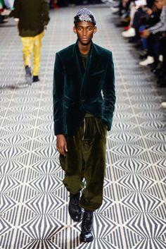 Haider Ackermann, Automne/Hiver 2018, Paris, Menswear
