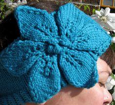 Ravelry: Clematis Flower Headband pattern by Ashley Kearns