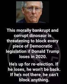 Making Donald Drumpf Again Bernie Sanders, Donald Trump, Mitch Mcconnell, Political Memes, Thats The Way, Republican Party, Gop Party, Republican Senators, Mood