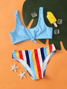 Cute Swimsuits, Cute Bikinis, Trendy Swimwear, Teenage Girl Outfits, Kids Outfits Girls, Irises, Orange Homecoming Dresses, Girls Bathing Suits, Bikini Outfits