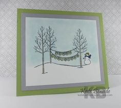 2014 Stampin Up Holiday Catalogue, White Christmas Stamp Set