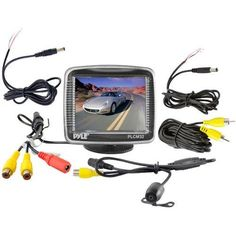 Pyle PLCM32 3.5-Inch TFT LCD Monitor with Universal Mount Rear View and Backup Color CMD Distance Scale Line Camera - http://yourperfectcamera.com/pyle-plcm32-3-5-inch-tft-lcd-monitor-with-universal-mount-rear-view-and-backup-color-cmd-distance-scale-line-camera/