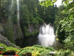 Butchart Gardens, Vancouver Island.
