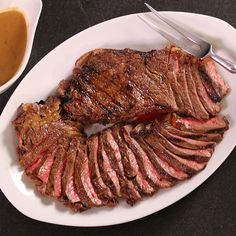 Margarita-Marinated Strip Steak - FineCooking