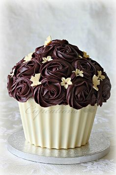 Butterfly cupcake!