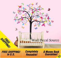 Reusable Wall Vinyl  Vinyl Wall Decal Sticker  by WallDecalSource, $117.00