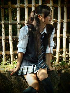 """aaprodigyy: """" shiroino: """" Mayu Iida (via ryojin_s) """" """" School Uniform Fashion, School Girl Outfit, School Uniform Girls, Girls Uniforms, Girl Outfits, School Uniforms, Pretty Asian Girl, Beautiful Japanese Girl, Cute Asian Girls"""