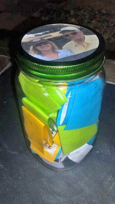 "Memory Jar - add memories from your childhood. A ""different kind"" of scrapbook...."