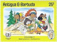 Antigua & Barbuda Stamp - Ken P's Walt Disney on Postage Stamps