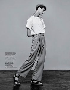 "Loose Change - For WWD Magazines shot by David Urbanke....Derek, ""love pants"" hahahhha"