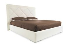 Diamond Upholstered Platform Bed