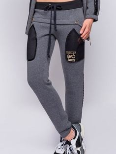 Sporty Outfits, Sporty Style, Girly Outfits, Mens Fashion Suits, Sport Fashion, Trousers Women, Pants For Women, Track Pants Mens, Joggers Womens