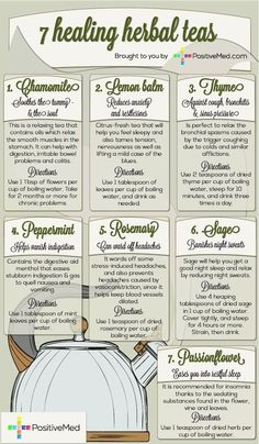 7 Powerful Healing Herbal Teas. Herbal teas are powerful form of medicine known by mankind for hundreds of years to treat and prevent illnesses.