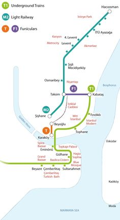 Use Public Transportation in Istanbul to Reach Most Places of Interest — Witt Magazine