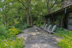 Gallery - Garden Structure — Federal Twist Design Farm Landscaping, Garden Paving, Garden Structures, Shade Garden, Pathways, Modern Design, Design Design, Terrace, Sidewalk