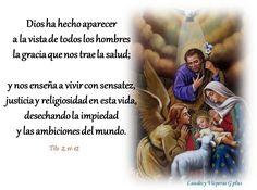 HORA #TERCIA #LiturgiaDeLasHoras #LectioDivina Domingo 25 de Diciembre  Tiempo de NAVIDAD SOLEMNIDAD DE LA NATIVIDAD DEL SEÑOR Del Propio de la solemnidad. Día de precepto. Año litúrgico 2016 ~ 2017 ~ Ciclo A ~ Año Impar  http://www.liturgiadelashoras.com.ar/sync/2016/dic/25/tercia.htm  INVOCACIÓN INICIAL  V. Dios mío, ven en mi auxilio R. Señor, date prisa en socorrerme. Gloria al Padre, y al Hijo, y al Espíritu Santo. Como era en el principio, ahora y siempre, por los siglos de los siglos…
