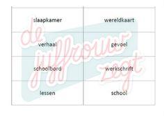 Woordsoorten inoefenen met woordkaarten |