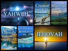 """GOD WANT US (YOU ) TO KNOW WHO HE IS . . when you want someone to get to know you, do you not mention your name ? OF COURSE YOU DO! similarly , God want us to know who He is thats why He REVEALS his name to us in the BIBLE . JEHOVAH. but many religions says that God's name is """"God or Lord """", but those are not personal names . They are only titles just like """" king """" and """"president """" . . But the Bible teaches us that God has MANY titles . . , and that includes """"GOD or Lord """" ."""