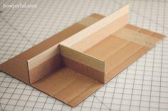 My Studio: Organizing drawers and awkward spaces with cardboard | How Joyful