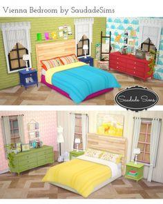 Vienna Bedroom at Saudade Sims via Sims 4 Updates