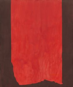 Achilles by Barnett Newman at National Gallery of Art Could use to talk about the color red and fire fighters. Homer Iliad, Community Jobs, Barnett Newman, Tate Gallery, Philadelphia Museum Of Art, National Gallery Of Art, Mark Rothko, Red Paint, Elements Of Art