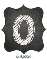 Printable_Chalkboard_ Number_0 Chalkboard Numbers, Chalkboard Classroom, Chalkboard Lettering, Chalkboard Printable, Classroom Decor, Classroom Labels, Classroom Resources, Hand Lettering, Stencil Patterns Letters