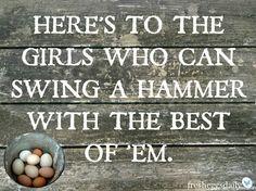 #herestothegirls