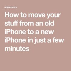 How to move your stuff from an old iPhone to a new iPhone in just a few minutes CNBC Elektroniken CNBC iPhone minutes Move Stuff Iphone Life Hacks, Cell Phone Hacks, Smartphone Hacks, Iphone Codes, Ios Iphone, Nouvel Iphone, Iphone Information, Technology Hacks, Android Technology