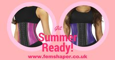 Get summer Body Ready and maximize your fitness session with your waist fit belt Yours only a few clicks away! www.femshaper.co.uk Fast Shipping, Comes in all sizes and colours